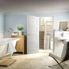 shaker 4 panel internal white primed door lifestyle roomshot