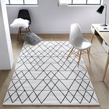 <b>Ковер</b> fedro черный/ белый <b>La Redoute</b> Interieurs | <b>La Redoute</b>