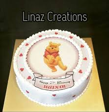 Winnie The Pooh Birthday Cake Need A Customised Cakes Contact Us At