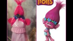 Trolls Crochet Hat Pattern Adorable Polly Troll Crochet Knit Hat YouTube