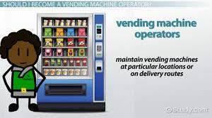 Vending Machine Technician Salary Interesting Become A Vending Machine Operator Career Requirements And Info