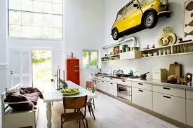 Small Picture car yellow in home decoration in kitchen Interior Design Ideas