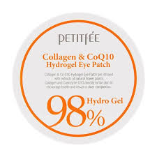 <b>Патчи для</b> глаз <b>Petitfee</b> Collagen & Q10 Hydrogel Eye Patch ...