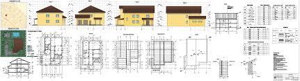 Курсовые и дипломные проекты коттеджи дачи скачать котедж в dwg  Курсовой проект Двухэтажный индивидуальный жилой дом 14 2 х 19 6 в г