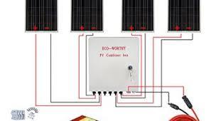 eco worthy 1000w grid tie solar system 10 100w solar panel eco worthy 400 watts solar panel kit 4pcs 100w poly solar panel 1000w