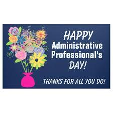 Administrative Professional Days Administrative Professionals Day Banner Zazzle Com