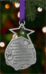 Memorial Ornament - <b>Everlasting Love</b>