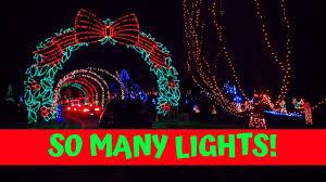 Enanders Christmas Lights Tilles Park Winter Wonderland 2019 St Louis Christmas Lights