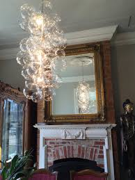 modern glass chandelier lighting. view in gallery waterfall bubble chandelier by thelightfactory modern glass lighting