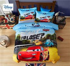 3d mcqueen cars bedding set twin size comforter duvet covers for kids bedroom decor queen bed sheets cotton bedspread 3 childrens bedding quilt cover from