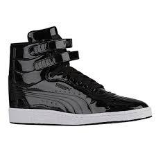 puma basketball shoes. puma sky ii men\u0027s basketball shoes black white 7