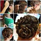 Easy bun hairstyles step by step 2017