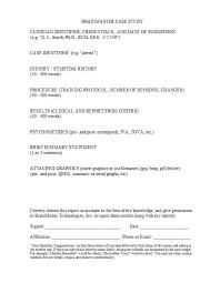 Case Study Template 1 Structure Apa Format Cadldg Com