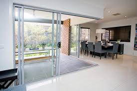 aluminium stacking sliding doors view