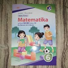 Download soal dan kunci jawaban siap uts ganjil kelas vi sd mapel matematika terbaru. Buku Siswa Matematika K13 Kelas 6 Sd Lolos Penilaian Shopee Indonesia