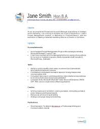 resume examples for free
