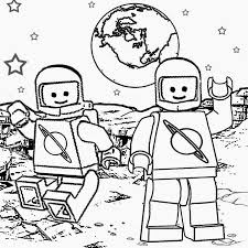 Printable Lego Minifigures Men Coloring Pages