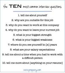 what is your weakness interview question how to answer the most common interview questions common interview