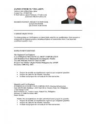 resume template good career objectives for resume objective in engineering resume objective statement employment history as cost engineer png list of list of career