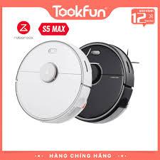 Robot hút bụi lau nhà Xiaomi Roborock Roborock S5 Max Quốc tê giá cạnh tranh