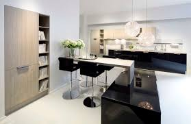 Modern Kitchens Of Syracuse Modern Rustic Combination Islands Ideas Built In Wine Rack Metal