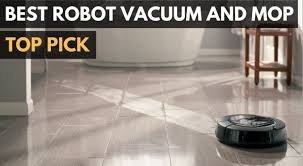 best robot vacuum and mop 2018