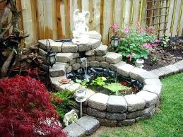garden pond ideas. Delighful Garden Very Small Garden Pond Ideas Build Inside S