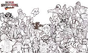 Small Picture smash bros coloring pages