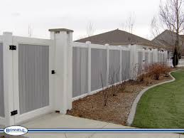 Unique Vinyl Privacy Fence Ideas Panels Prices Styles And Decorating