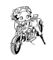 Betty Boop Kleurplaten Animaatjesnl