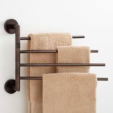 Bathroom Towel Colvin Quadruple Swing Arm Towel Bar Bathroom