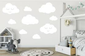 cloud wall decals singapore for nursery