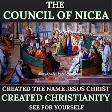 """Radio Biafra - The Council of Nicea – The Council that created Jesus Christ  The origin of the """"Savior"""" – Later becoming the person worshipped today as  Jesus Christ Ptolemy 1 Meryamun"""