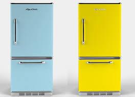 refrigerator vintage look. exclusive: big chill introduces the new \ refrigerator vintage look