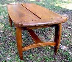 custom neo craftsman coffee table by louis fry in wood within decor 7