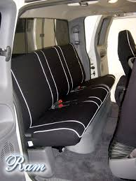 2016 dodge ram seat covers 2016 dodge ram sport rear seat cover w armrest full piping