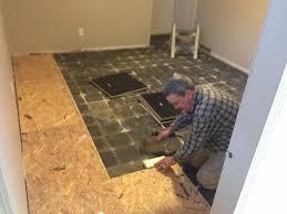 vapour barrier on basement concrete floor
