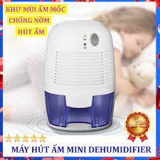 Máy hút ẩm khử mùi chống nồm, máy hút ẩm phòng ngủ nhà tắm - ngăn ngừa ẩm  mốc gây ô nhiễm, bảo vệ sức khỏe cho gia đình - bảo hành