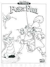 Peter Pan Coloring Pages Free Printable X Book Colouring Pictures To