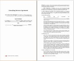 Consulting Agreement Sample In Word Gorgeous Consulting Agreement In Pdf Simple Resume Examples For Jobs