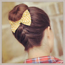 Sock Bun Hair Style frenchup high bun updo hairstyle ideas cute girls hairstyles 8396 by wearticles.com