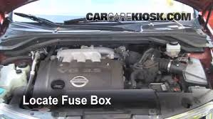 replace a fuse 2003 2007 nissan murano 2004 nissan murano sl How To Replace A Fuse Box In A Car locate engine fuse box and remove cover how to replace a fuse box in a 1969 mustang