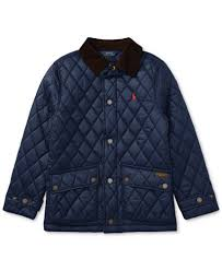 Ralph Lauren Diamond-Quilted Jacket, Big Boys - Coats & Jackets ... & Ralph Lauren Diamond-Quilted Jacket, Big Boys Adamdwight.com
