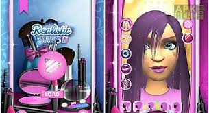 realistic makeup games 3d