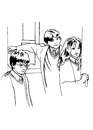 Harry Potter And The Chamber Of Secrets Coloring Pages