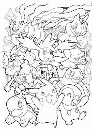 Small Picture Free Coloring Pages Pokemon