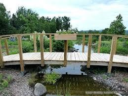 build a bridge over a creek the garden bridge over the creek stream under the bridge build a bridge over a creek