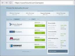 compare auto insurance quotes with confidence coverhound