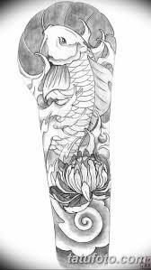 черно белый эскиз тату рукав на руку 11032019 002 Tattoo Sketch
