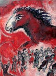 marc chagall breaks the grid